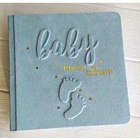 Альбом для новонародженого хлопчика Ніжки