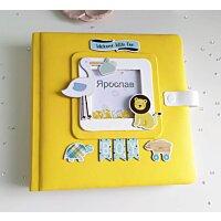 Іменний дитячий фотоальбом ручної роботи 3d шейкер