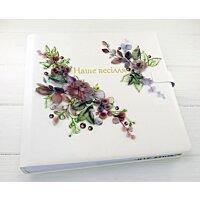 Великий весільний фотоальбом ручної роботи Flowers