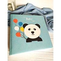 Іменний фотоальбом для хлопчика Панда