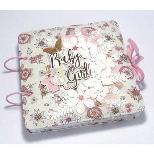Фотоальбом для новонародженої дівчинки Котик