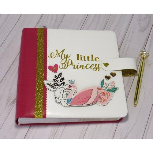 Дитячий іменний фотоальбом для дівчинки Princess