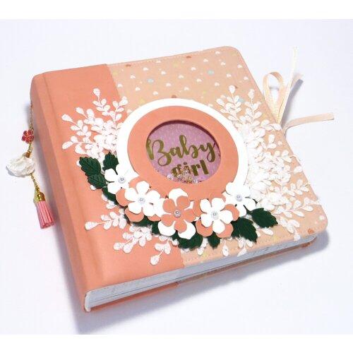 Авторський дитячий альбом для дічинки Квітка
