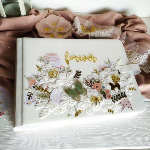Весільний фотоальбом ручної роботи LOVE
