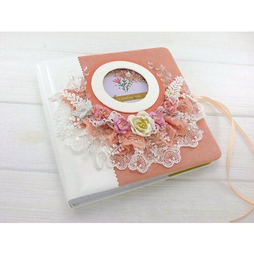 Фотоальбом для дівчинки Квіти