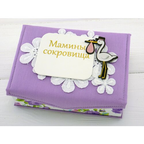 Мамина скарбничка ручної роботи Лелека