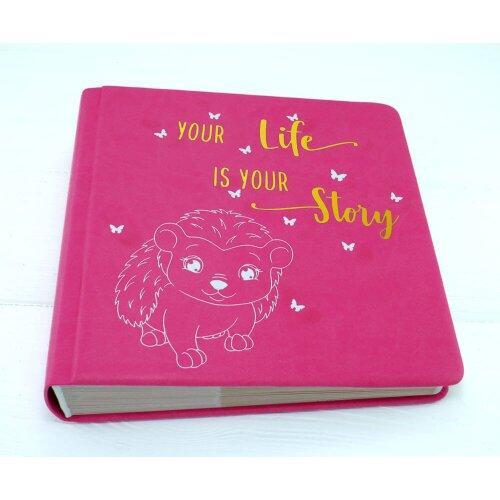 Альбом ручної роботи для дівчинки your life is your story