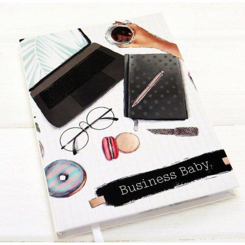 Іменний блокнот українською мовою Business Baby