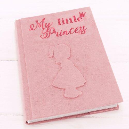 Іменний фотобук для дівчинки Принцеса