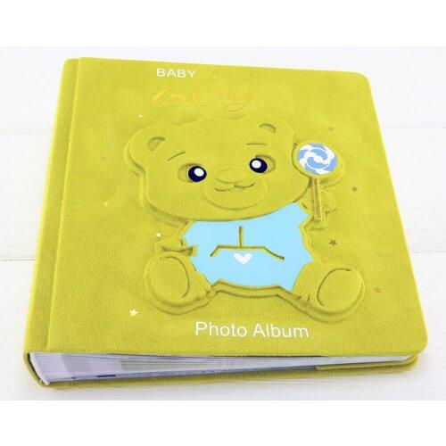 Іменний фотоальбом для хлопчика Медведик