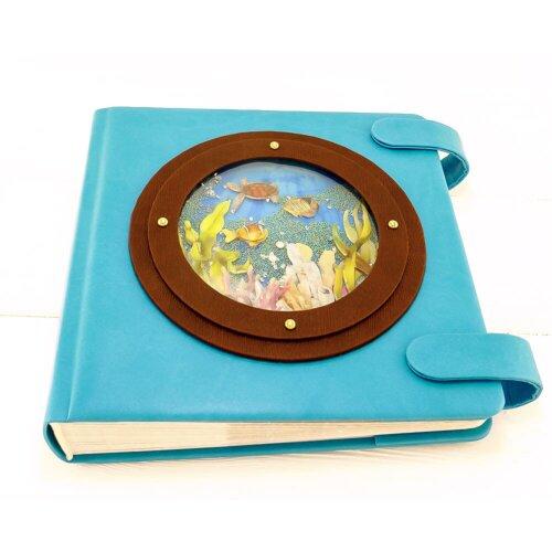 Іменний фотоальбом для хлопчика Море