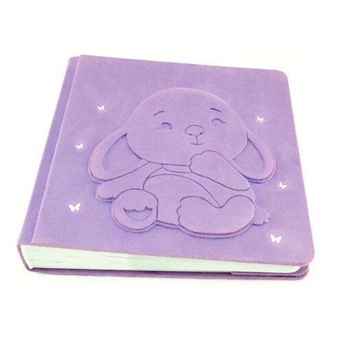 Фотоальбом ручної роботи для новонародженої дівчинки Зайчик