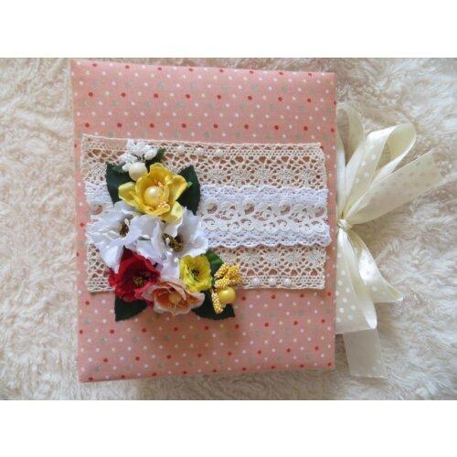 Дитячий міні-альбом для дівчинки Квіти
