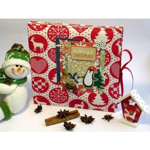 Новорічний альбом для фотографій Merry Christmas